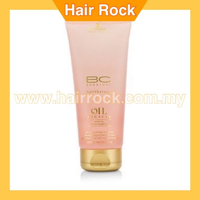 Schwarzkopf BC Oil Miracle Rose Oil Oil-In-Shampoo (For Stressed Hair and Scalp) Hair Care
