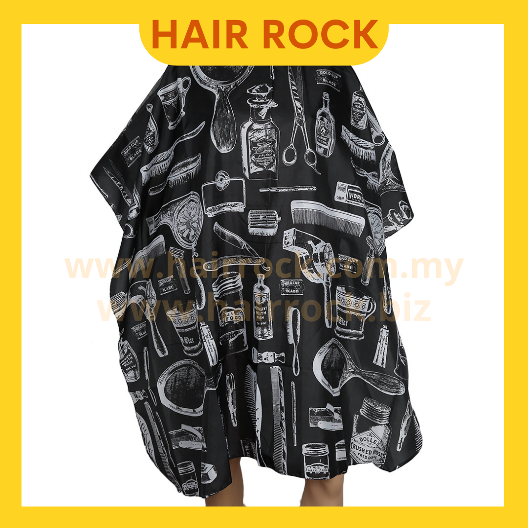 Hair Cutting Cape Large Salon Hairdressing Hairdresser Gown Barber Cloth