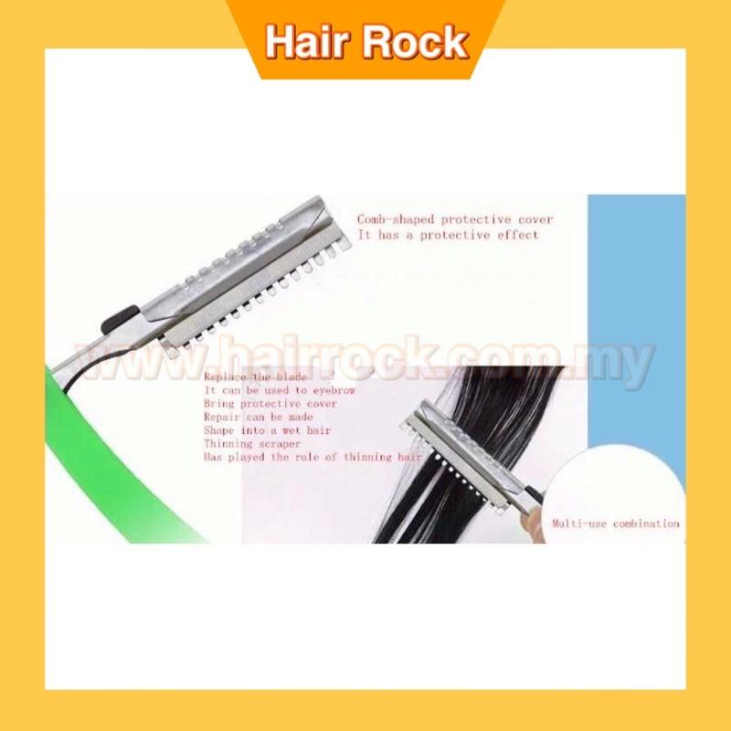 3PCs Plastic Holder Hair Razor cutter